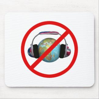 Spionieren Sie nicht die Welt aus Mousepad