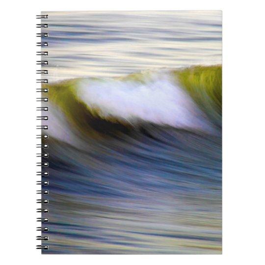 """Spiral Notizbuch """"Waters"""" Spiral Notizblock"""