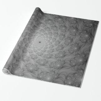 Spirale der Spiralen im einfarbigen Packpapier