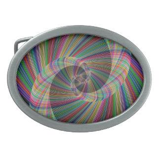 Spirale Ovale Gürtelschnalle