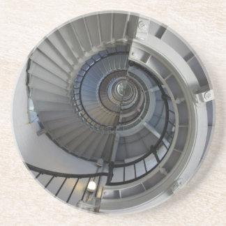 Spirale Sandstein Untersetzer