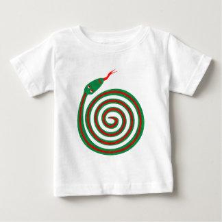 Spirale Schlange spiral snake Baby T-shirt