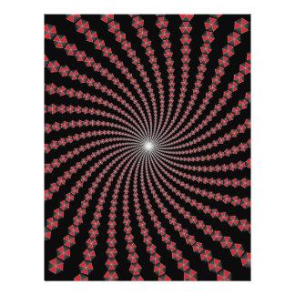 Spirale von Traingles: Vektorkunst: Bedruckte Flyer