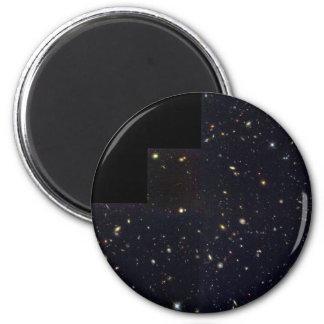 Spiralen-, elliptische und Zusammenstoßengalaxien Runder Magnet 5,7 Cm