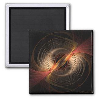 Spiraline Quadratischer Magnet
