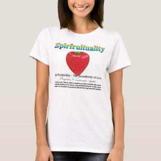 Spirfruituality: Die Erdbeere der Liebe T-Shirt
