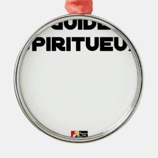 Spirituoser Führer - Wortspiele - Francois Ville Silbernes Ornament