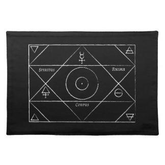 Spiritus Anima-Korpus-Tischset Stofftischset
