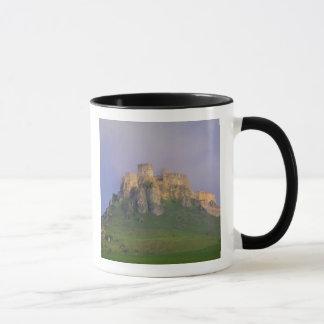 Spissky hrad im Nebel, Slowakei Tasse