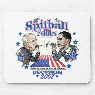 Spitball-Politik 2008 Mauspads