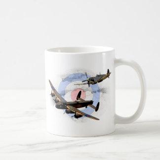 Spitfire und Lancaster Kaffeetasse