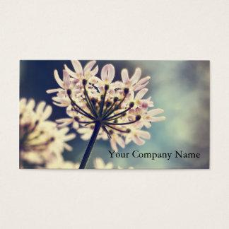 Spitze-Blumen der Königin-Annes kundenspezifische Visitenkarten