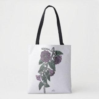 Spitze-Blumen Tasche