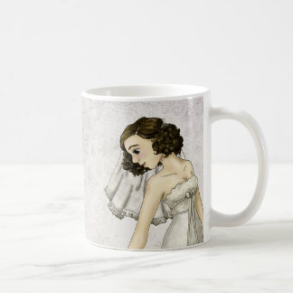 Spitze-Braut Kaffeetasse