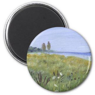 Spitze der Königin-Anne Runder Magnet 5,1 Cm