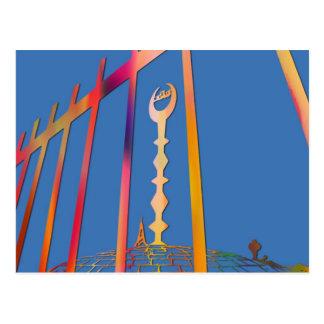 Spitze einer Moschee Postkarte
