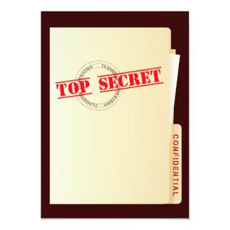 Spitze - geheime personalisierte einladungskarten