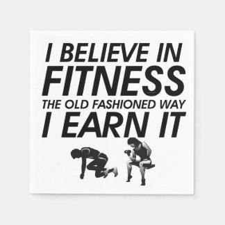 SPITZE glauben an Fitness Serviette