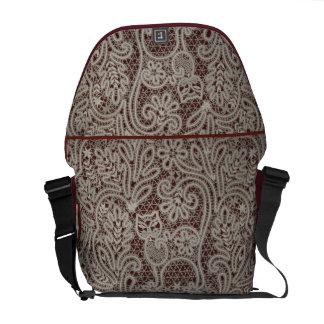 Spitze-Katzen-Kunst-Rickshaw-Bote-Tasche SCHÖN Kurier Taschen