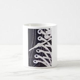 Spitze-Nahaufnahme Kaffeetasse