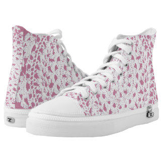 Spitzedoily-Blick Hoch-geschnittene Sneaker