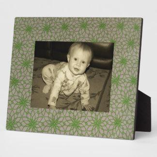 SpitzeDoily spielt grüne Rahmen-Plakette die Fotoplatte