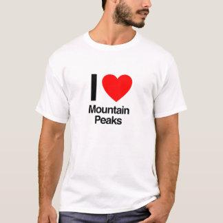Spitzen der Liebe I Gebirgs T-Shirt