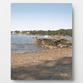 Spitzen-Insel, ICH Verein-Strand Fotoplatte
