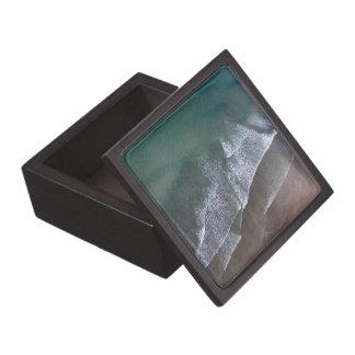 Spitzen- Wellen Whitesands Bucht Wales Kiste