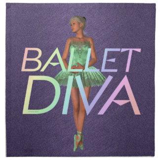SPITZENballett-Diva Stoffserviette
