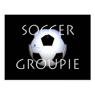 SPITZENfußball-Groupie Postkarte