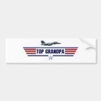 Spitzengroßvater-Logo Autoaufkleber