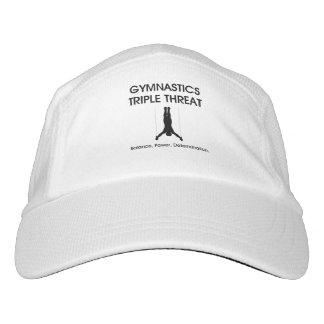 SPITZENgymnastik-Dreiergruppen-Drohung Headsweats Kappe