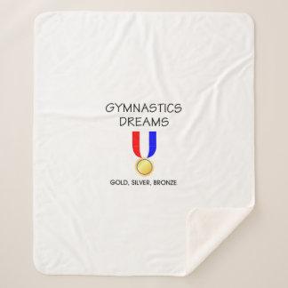 SPITZENgymnastik-Träume Sherpadecke