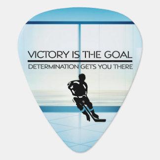 SPITZENHockey-Sieg-Slogan Plektrum