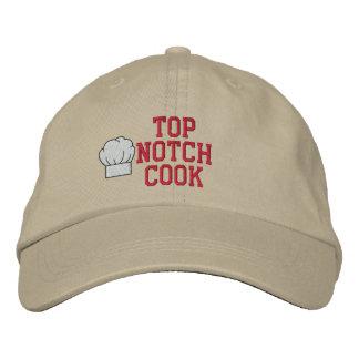 Spitzenkerben-Koch gestickter Hut Bestickte Mütze