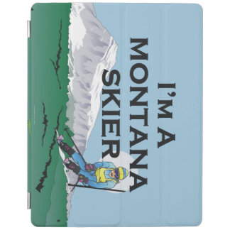 SPITZENmontana-Skifahrer iPad Hülle