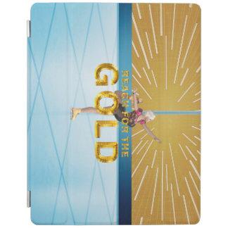 SPITZENreichweite für das Gold iPad Smart Cover