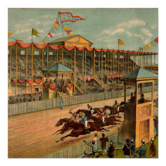 SPITZENrennen-Tag an der Bahn Poster