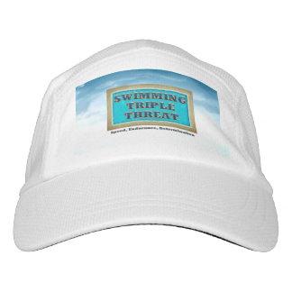 SPITZENSchwimmen-Dreiergruppen-Drohung Headsweats Kappe