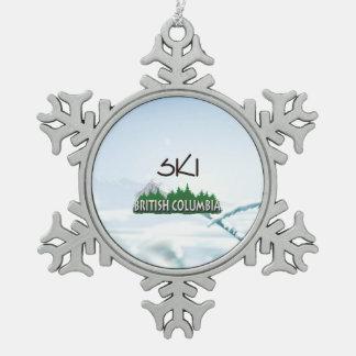 SPITZENski BC Schneeflocken Zinn-Ornament