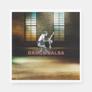 SPITZENtanz-Salsa Papierservietten