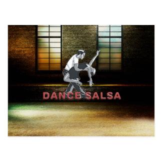 SPITZENtanz-Salsa Postkarte