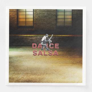 SPITZENtanz-Salsa Servietten