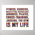 SPITZENtraining ist mein Leben Poster