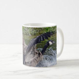Splashy landenkanada-Gans Kaffeetasse