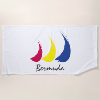Splashy Sails_Paint-The-Wind_Bermuda Strandtuch
