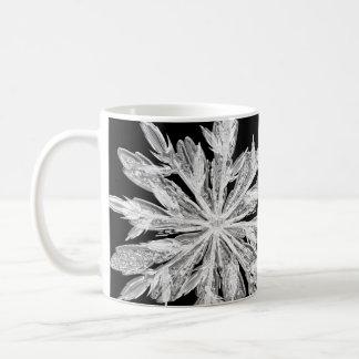 Splitter-Winter-Schneeflocke Kaffeetasse