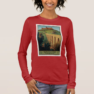 Spoleto ~ Umbrien Langarm T-Shirt