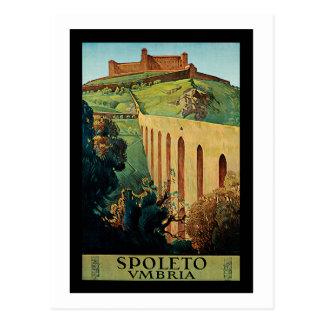 Spoleto ~ Umbrien Postkarte